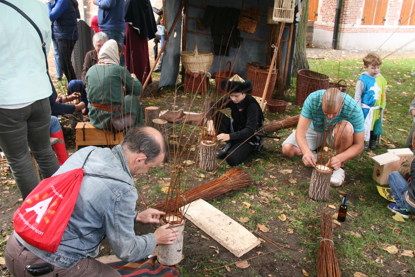 activiteiten mensen middeleeuwen