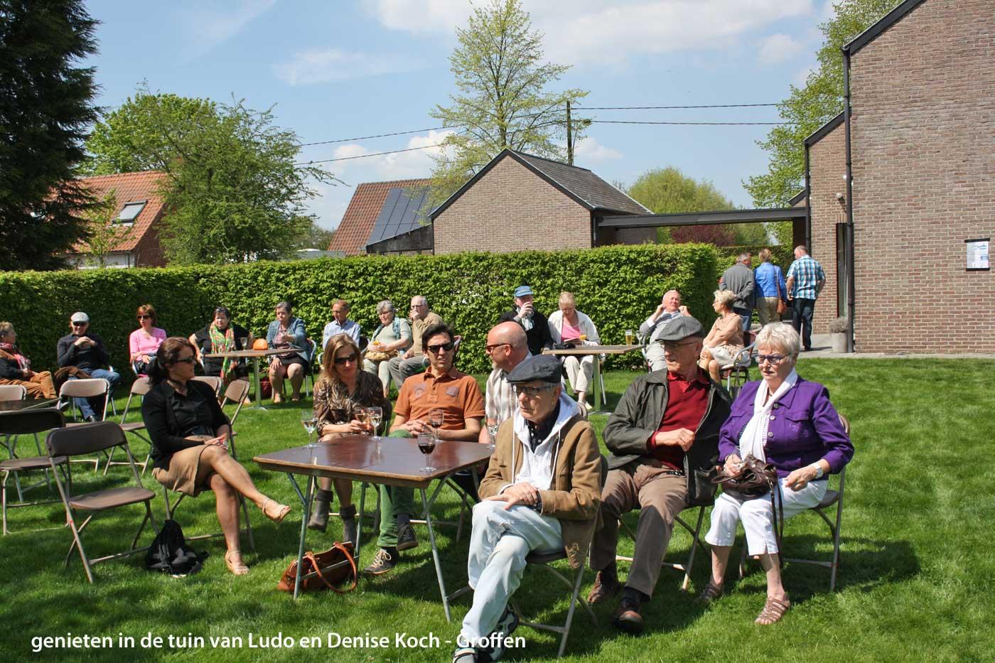 Mooi weer lokt veel volk naar talent in de tuin de polder for Vliegen in de tuin