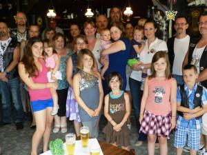 De hele groep kwam met de ouders van de kinderen bijeen in De Koerel