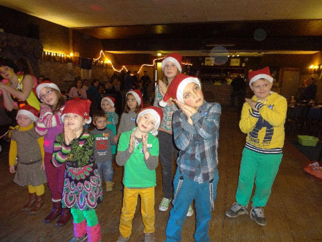 kindekerstfeest oude gans