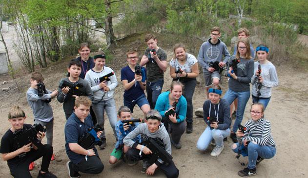Fort Fiësta: avontuurlijk evenement met 600 tieners