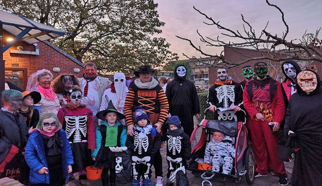 Halloweentocht in Stabroek