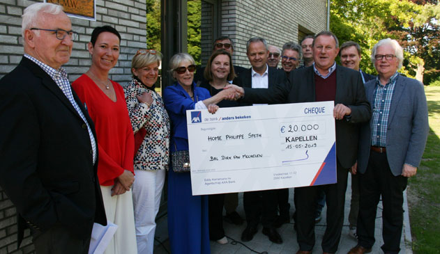 Home Philippe Speth ontving al 450.000 euro aan giften