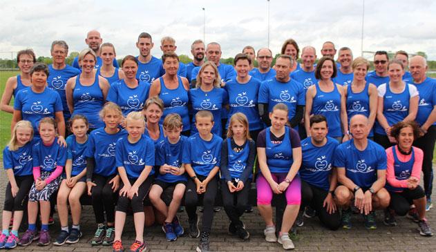 Atletiekclub ACSS neemt lopers mee door uniek Grenspark Kalmthoutse Heide